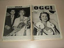 OGGI=1955/31=PONTELANDOLFO=FLEUR COWLES=DISNEYWORLD=WILLIAM BRANHAM=TOTO '=