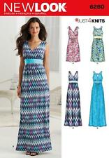 NEW LOOK SEWING PATTERN MISSES' DRESS 2 LENGTHS BODICE VARIATION 8 - 20  6280