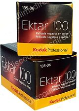 2 x KODAK EKTAR 100 35mm 36exp CHEAP COLOUR PRINT FILM by 1st CLASS POST