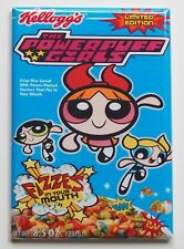 Powerpuff Girls Cereal Box FRIDGE MAGNET (2 x 3 inches) cartoon power puff