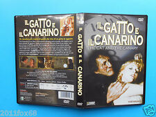 thriller il gatto e il canarino the cat and the canary edward fox dvd raro usato