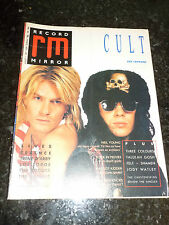"RECORD MIRROR Magazine - Date 01/08/1987 - Inc ""Cult"""