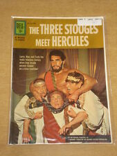 MOVIE CLASSICS #1 FN- (5.5) DELL COMICS THREE STOOGES MEET HERCULES AUGUST 1962