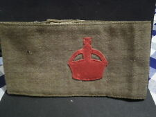 WW1 ORIGINAL BRITISH RECRUIT DERBY SCHEME ARMBAND