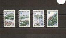 Niger 1967 SG252-5 4v NHM Winter Olympics Grenoble 1968