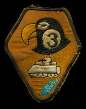 US Army B Squadron 3rd Cavalry Regiment Black Hawk Vietnam Patch S-18