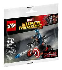 LEGO Marvel Super Heroes 30447 Captain America's Motorcycle