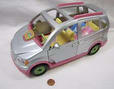 Fisher Price Loving Family Dollhouse SILVER MUSICAL MINIVAN VAN Twin Time 2007