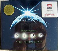 BLUR CD The Universal UK 4 Track PROMO in Jewel Case w/ EMI Promo STICKERS