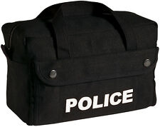 Black POLICE Tactical Equipment Bag