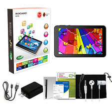 "KOCASO 7"" Inch Tablet PC Quad Core Android 4.4 8GB Dual Camera NEW"