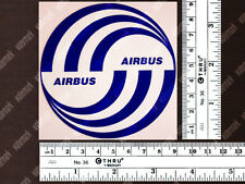 ROUND AIRBUS LOGO DECAL / STICKER 3.5 x 3.5 in / 9 x 9 cm