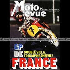 MOTO REVUE N°2266 MALANCA SS HONDA GL 1000 CR 125 ★ GRAND PRIX DE FRANCE 1976 ★
