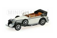 Minichamps P436039407 - 1/43 MAYBACH ZEPPELIN 1932 - WHITE/BLACK