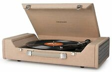 Crosley Nomad Portable USB Turntable Light Brown CR6232A-BR New