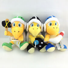 3X Super Mario Bros Boomerang Hammer Bomb Koopa Troopa Turtle Plush Toy Teddy 8""