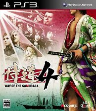(Used) PS3 Samurai Dou 4 Way of the Samurai 4 [Import Japan]((Free Shipping))、
