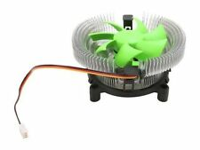 100mm Low Profile HTPC Silent CPU Cooler <18dBA Socket 754 939 940 AM2 AM2+ AM3
