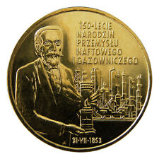 Poland / Polen - 2zl 150th Anniversary of Oil and Gas Industry's Origin