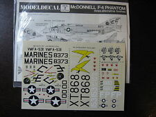 1/72  VINTAGE MODEL DECAL N°2 McDONNELL F.4 PHANTHOM 3 FINITIONS  DECALCOMANIES