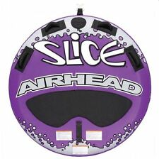 Airhead Slice Double Rider Inflatable Boat Lake Water Towable Tube | AHSL-4
