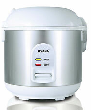 OYAMA 5 CUP ALL STAINLESS STEEL RICE COOKER-WARMER-STEAMER