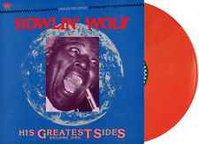 "Howlin' Wolf - ""His Greatest Sides, Vol. 1"" Limited Orange Vinyl Jackpot Records"