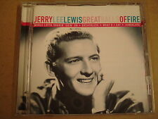 CD / JERRY LEE LEWIS - GREAT BALLS OF FIRE