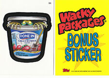 2005 WACKY PACKAGES ALL NEW SERIES 2 (ANS2) *DONE-IN* BONUS STICKER  B6