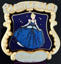 DISNEY PIN CINDERELLA 65TH ANNIVERSARY SPINNER LE 2000 LIMITED EDITION NEW DLR