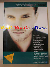 CARTONATO PROMO MIGUEL BOSE' best of  67 X 48 CM cd dvd vhs lp mc