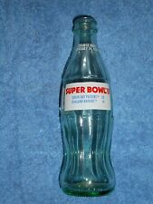 1968 SUPER BOWL COMMEMORATIVE COCA COLA BOTTLE 1993 Green Bay Packers / Raiders