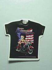 Betty Boop T-SHIRT AMERICAN RIDER SIZE 3X