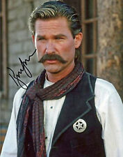 """TOMBSTONE - Kurt Russell Reprint  8"""" x 10""""  AUTOGRAPHED Color TOMB-K01"""