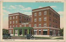 Hotel Pearson in Russellville AR Postcard