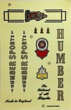 HUMBER DECALS BIKE VINTAGE CYCLING BICYCLE STICKERS SET FRAME SPORT SPARE PARTS