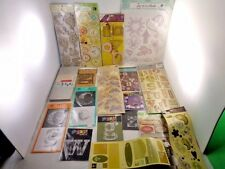 Scrapbook Stickers and Adhesive Large Lot 18 sheets Heidi Grace Design Prima
