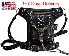 Steampunk Belt Bag Waist leg Hip Holster Purse Pouch Messenger Bag US Stock