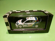 MINICHAMPS 1:43  FORD FOCUS RS WRC NESTE RALLY FINLAND   - GOOD CONDITION IN BOX