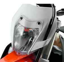 SHIPS SAME DAY! - KTM 78111994000 500 EXC 350 EXC-F Transparent Headlamp Grid
