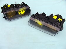 BMW E36 M3 GT YELLOW BOSCH EURO ELLIPSOID HEADLIGHTS w. NEW LENSES, ORIGINAL BMW