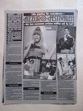 Mandy Smith Brian Spence Beastie Boys Rob Lowe Melissa Gilbert clippings Sweden