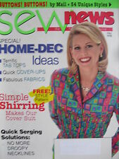 HOME-DECORATING IDEAS May 1998 SEW NEWS  SIMPLE SHIRRING