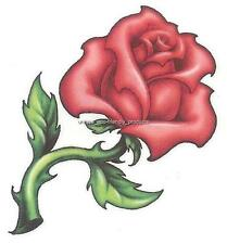 TRIBAL RED ROSE Awesome!!! Temporary Tattoo VERY SEXY SEE DESCRIPTION FOR SIZE