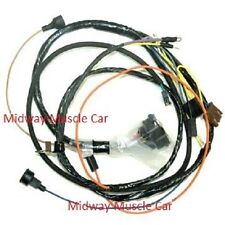 350 chevy wiring harness engine wiring harness w gauges 69 chevy camaro ss 302 327 350 396 427