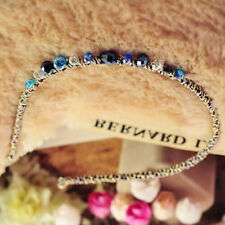 1pcs Blue Headband Crystal Rhinestone Hair Band Chic Girls Headpiece Accessory