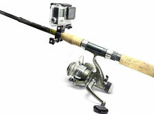 Fishing Rod Mount f. GoPro HERO 3 - 4 Session Angel Fishing Sportsman Mount