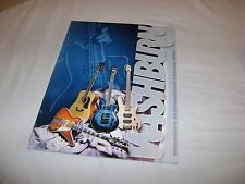 WASHBURN Guitars Catalog NUNO Dimebag Darrell Paul Stanley Models RARE 2001 edt