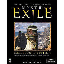 Myst III 3 Exile Collectors Edition - Strategy Guide, Soundtrack etc - Brand New