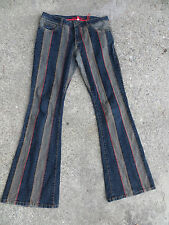 30 x 33 BEBE Vintage Flare Bell Bottom Jeans  Weighty   LikeNEW